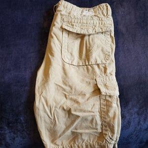 True Religion Tapa Cargo Shorts